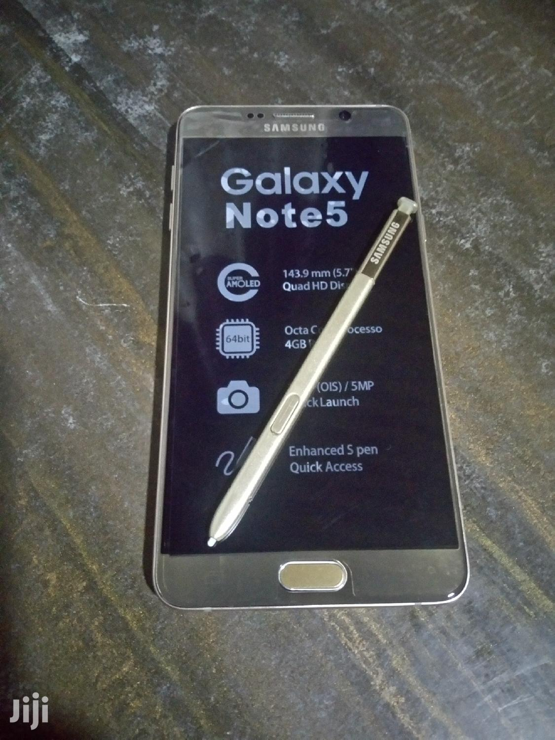 New Samsung Galaxy Note 5 64 GB Gold | Mobile Phones for sale in Kokomlemle, Greater Accra, Ghana