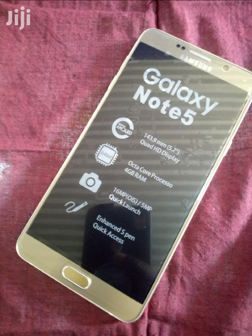 New Samsung Galaxy Note 5 64 GB Gold