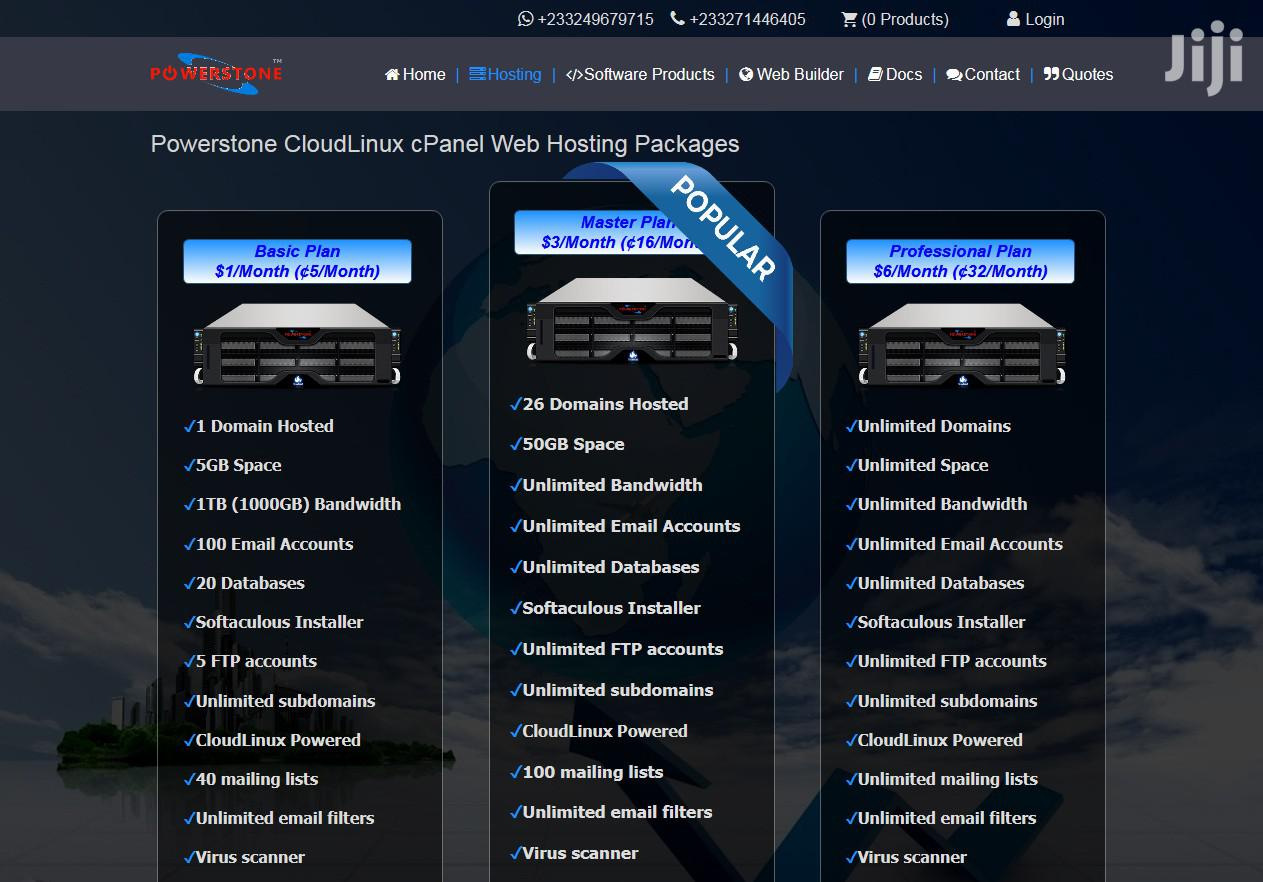 Cloudlinux Cpanel Web Hosting With Instant Setup