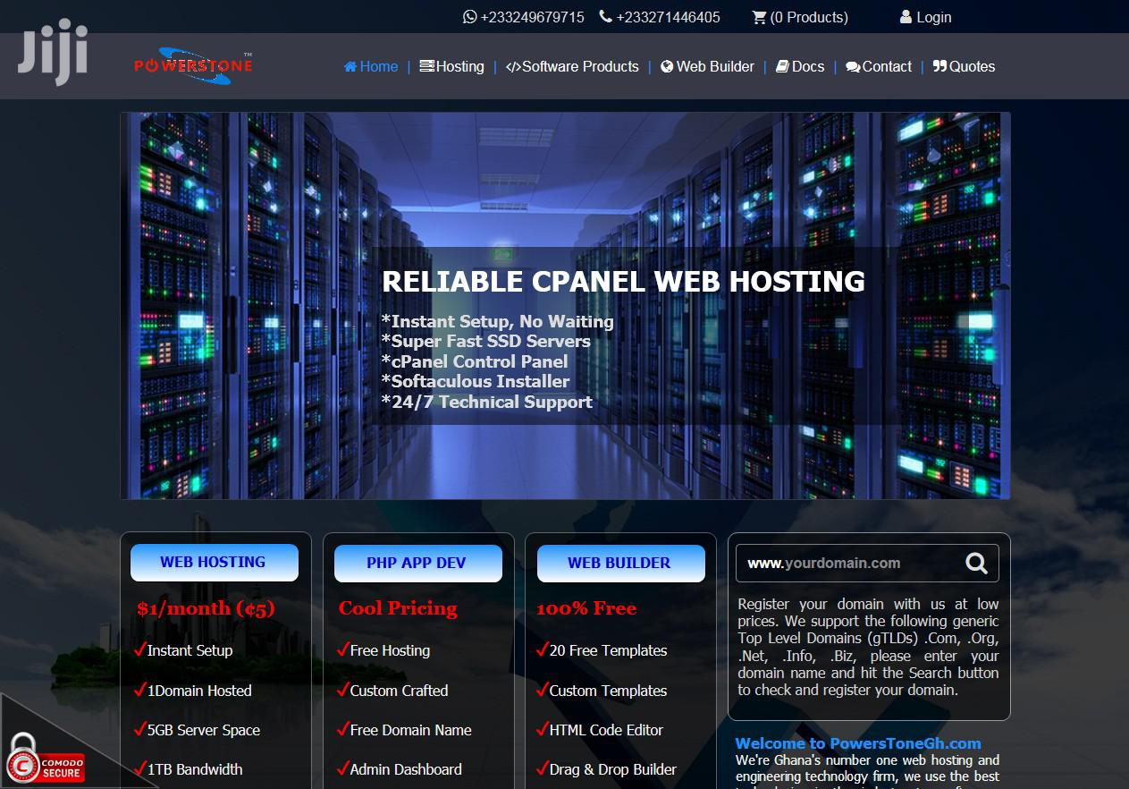 Cloudlinux Cpanel Web Hosting With Instant Setup | Computer & IT Services for sale in New-Juaben Municipal, Eastern Region, Ghana