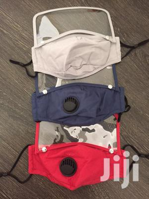 Detachable Face Mask + Face Shield   Safetywear & Equipment for sale in Greater Accra, Tema Metropolitan