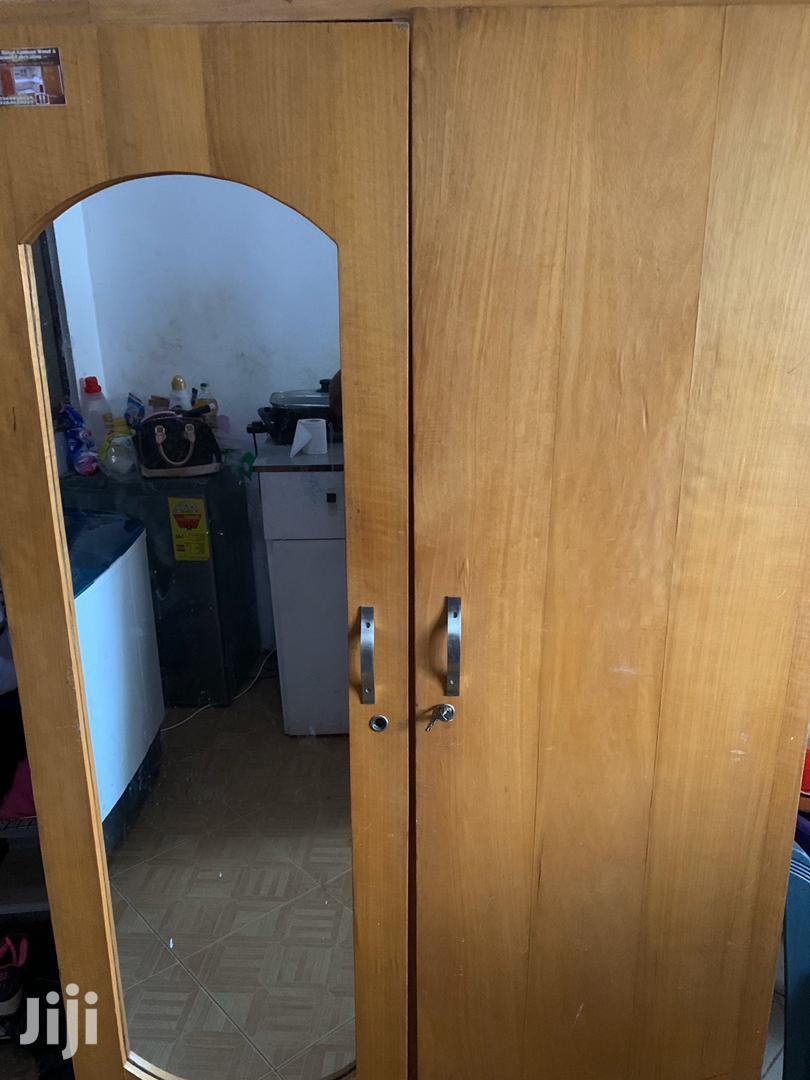 Full Mirror Sprayed Wardrobe