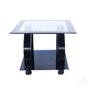Tempered Glass Square Coffee Table – Black   Furniture for sale in Greater Accra, East Legon