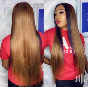 Two Tones Quality Human Hair Blend Wig | Hair Beauty for sale in Greater Accra, Osu