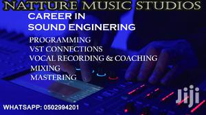 Get a Career in Sound Engineering Online/One on One   Classes & Courses for sale in Greater Accra, Kwashieman