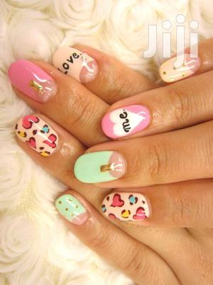 Beautiful Nail Stickers   Makeup for sale in Greater Accra, Odorkor