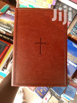 Holy Bible Nkjv Original Quality Leather   Books & Games for sale in Greater Accra, Airport Residential Area