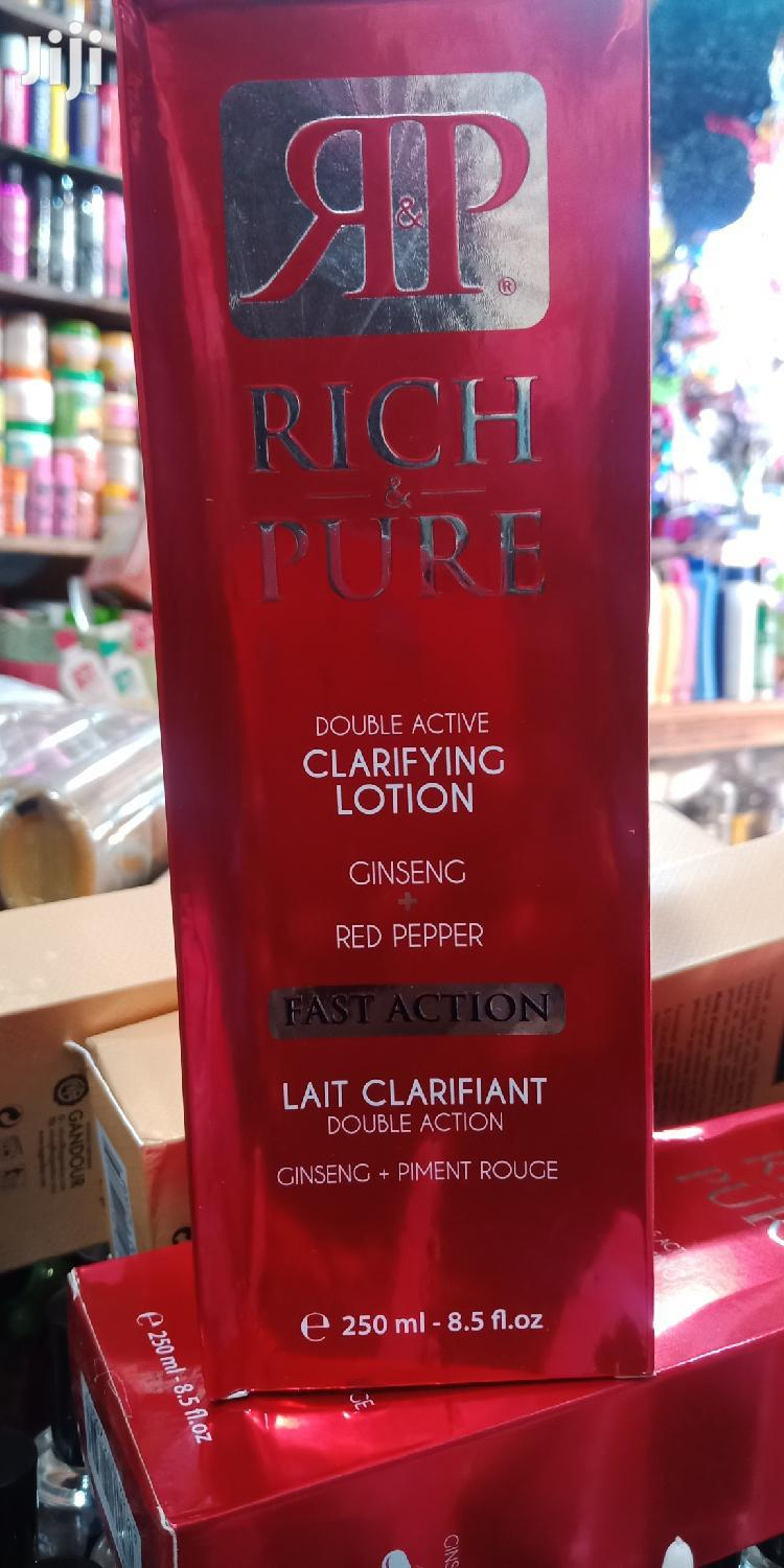 Rich Pure Clarifying Lotion