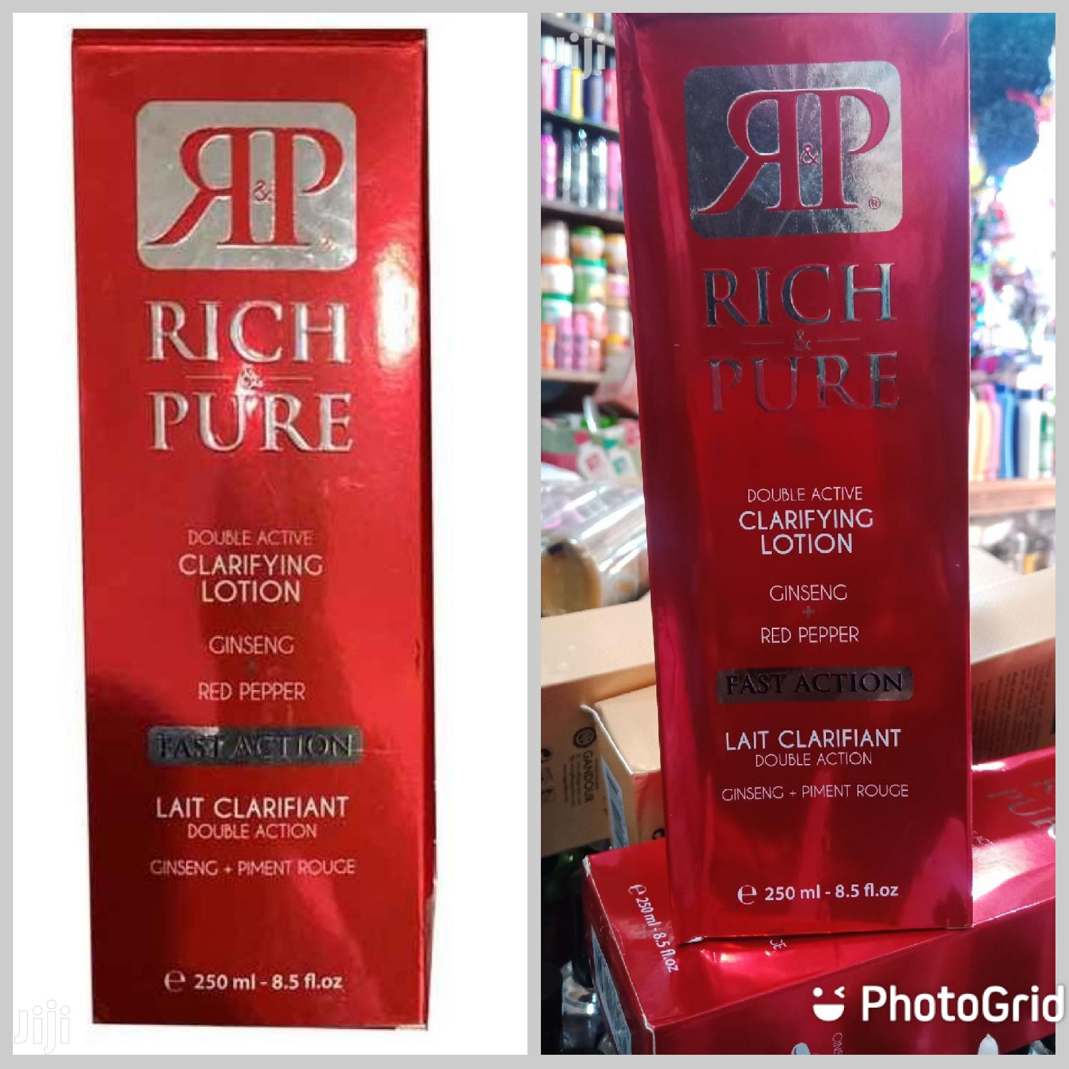 Rich Pure Clarifying Lotion | Bath & Body for sale in Accra Metropolitan, Greater Accra, Ghana