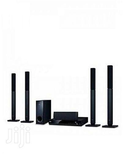 LG LG LHD655BT Bluetooth DVD Home Theatre System Black-5.1 Channel