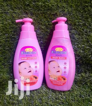 Diamond White Baby Lotion and Bath | Baby & Child Care for sale in Greater Accra, Darkuman