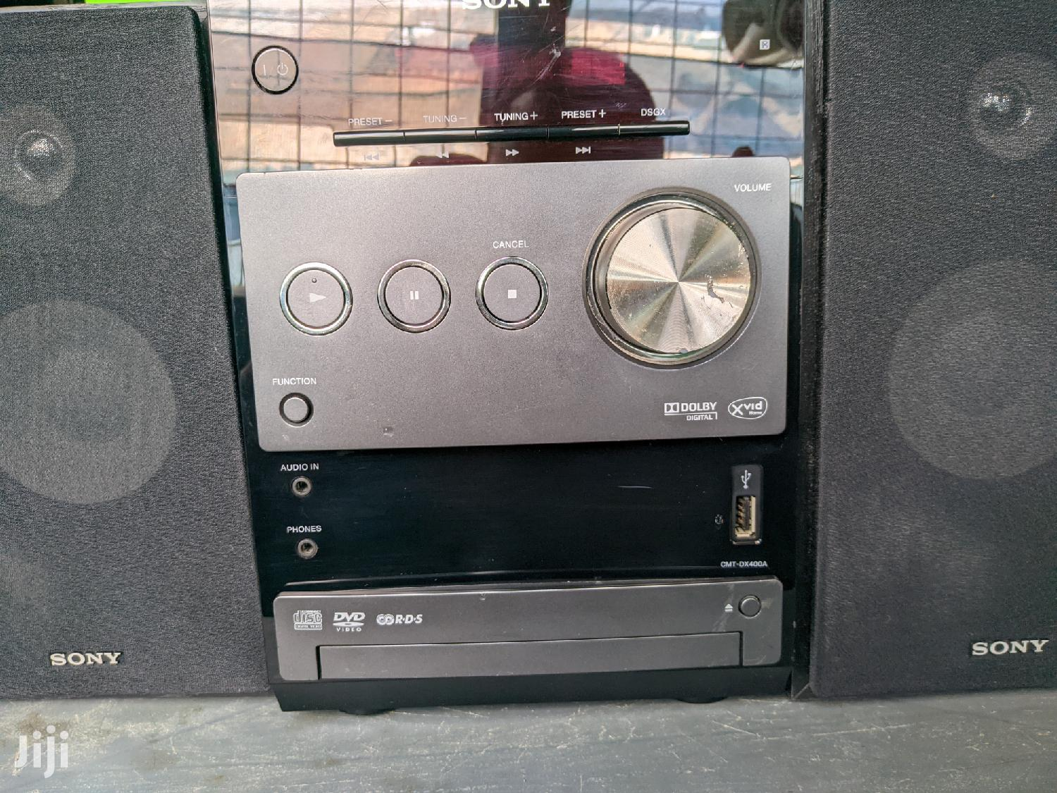 Sony CMT-DX400A/CE12 Compact Stereo (Black | Audio & Music Equipment for sale in Accra Metropolitan, Greater Accra, Ghana