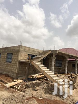 2 Bedroom Storey Building on a Half Plot of Land for Sale   Houses & Apartments For Sale for sale in Central Region, Awutu Senya East Municipal