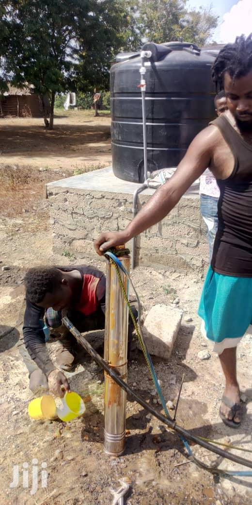 Borehole With Water Pump