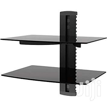 Newstar Wall Mount DVD/Satellitetv Receiver Stand_double