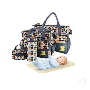 Baby Diaper Bag Set – Moulticoloured 5 Piece   Baby & Child Care for sale in Greater Accra, East Legon