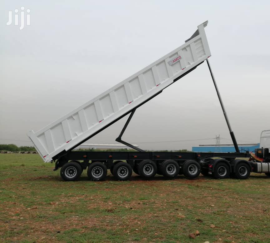 Archive: Semi-trailer -tipper-6-axle For Sale New