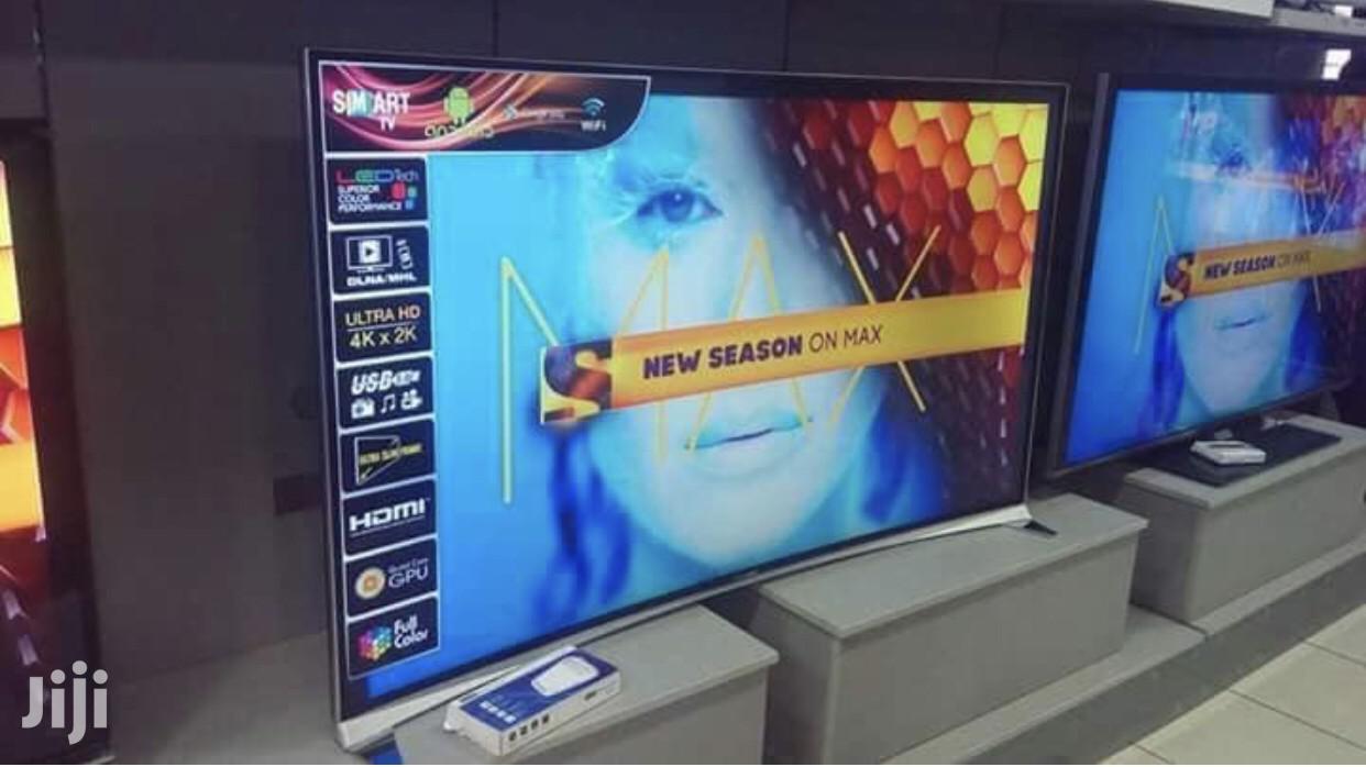"""New Nasco 55"""" Curved Smart 4K Digital Satellite LED TV"""