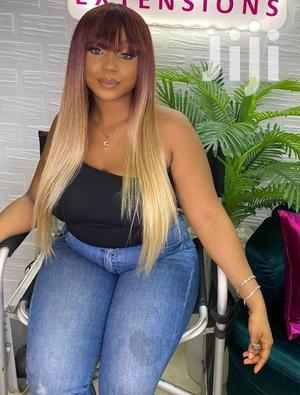 30 Inches Fringe Coloured Wig Cap | Hair Beauty for sale in Greater Accra, Osu