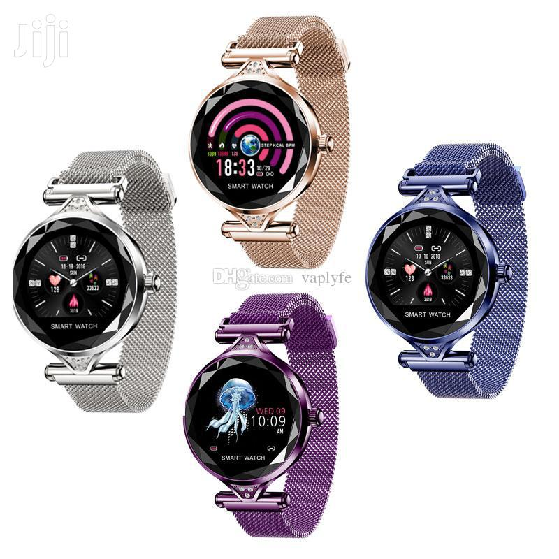 Lemfo H2 Ladies Smart Watch | Smart Watches & Trackers for sale in Accra Metropolitan, Greater Accra, Ghana