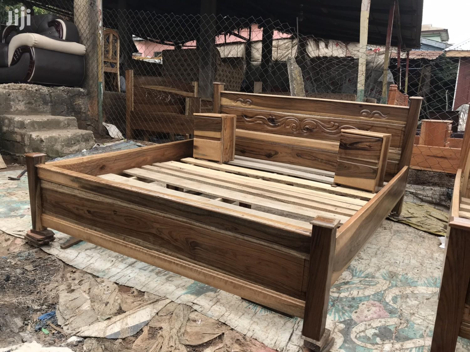 Queen Size Bed | Furniture for sale in Kanda Estate, Greater Accra, Ghana