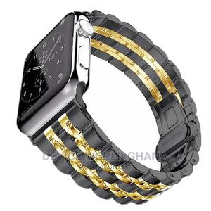 Apple Watch Stainless Steel Strap/Band Series 1-6   Smart Watches & Trackers for sale in Greater Accra, Accra Metropolitan