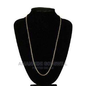 Stainless Steel Necklace – Gold   Jewelry for sale in Greater Accra, East Legon