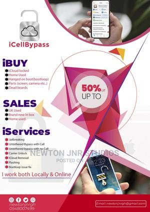 iPhone Services | Computer & IT Services for sale in Greater Accra, Kaneshie