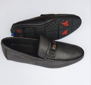 Gucci Men's Black Leather Loafers-Sz 42 | Shoes for sale in Greater Accra, Ga West Municipal