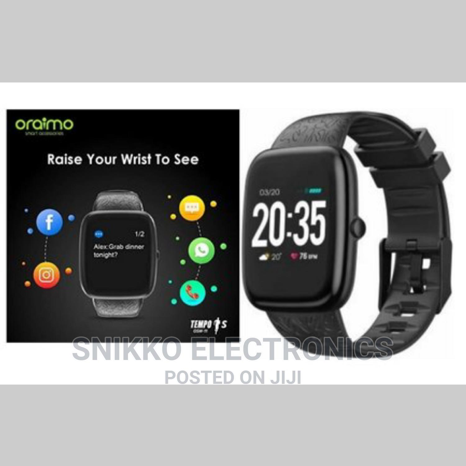 Oraimo Smart Watch ( Waterproof ) | Smart Watches & Trackers for sale in Asylum Down, Greater Accra, Ghana