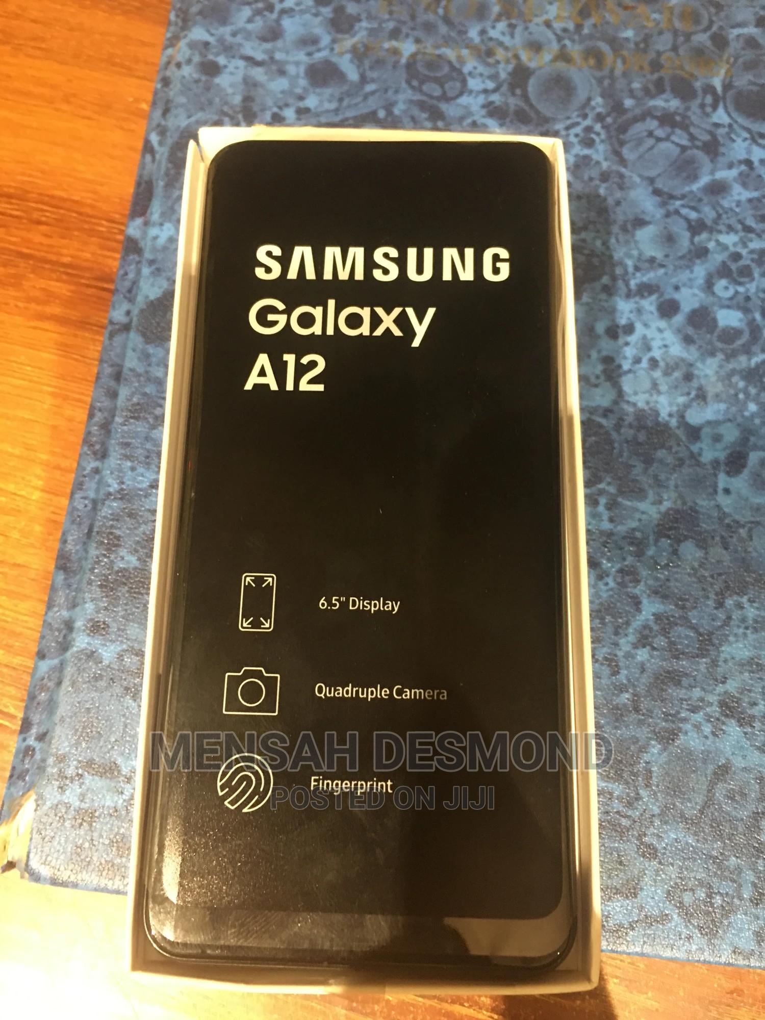 New Samsung Galaxy A12 64 GB Black | Mobile Phones for sale in Accra New Town, Greater Accra, Ghana