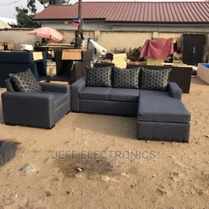 Call or Whatsapp for Your Brand New Gray Colour Sofa | Furniture for sale in Greater Accra, Adabraka
