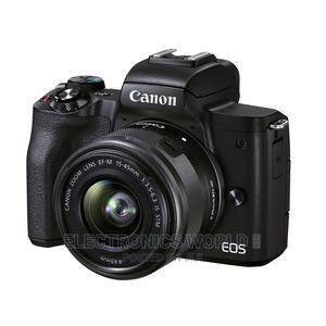 Canon EOS M50 Mirrorless Digital Camera W/ 15-45mm STM Lens | Photo & Video Cameras for sale in Greater Accra, Adabraka