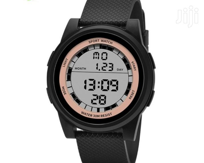 SANDA 365 Super Slim Digital Sport Watch