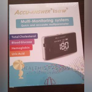 Accu Isaw, 4 in 1 Multi Check. Glucose, HB, Cholesterol Etc | Medical Supplies & Equipment for sale in Greater Accra, Achimota