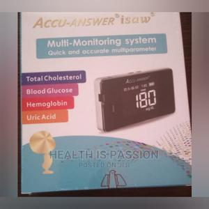 4 in 1 Monitor Check, Choles, Uric, Blood Glucose | Medical Supplies & Equipment for sale in Greater Accra, Achimota