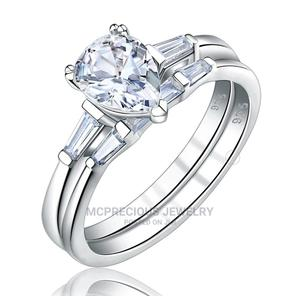 Solid Silver With White Gold Wedding Ring   Wedding Wear & Accessories for sale in Greater Accra, Ga South Municipal