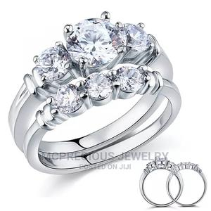 Solid Silver With White Gold Wedding Ring | Wedding Wear & Accessories for sale in Greater Accra, Ga South Municipal