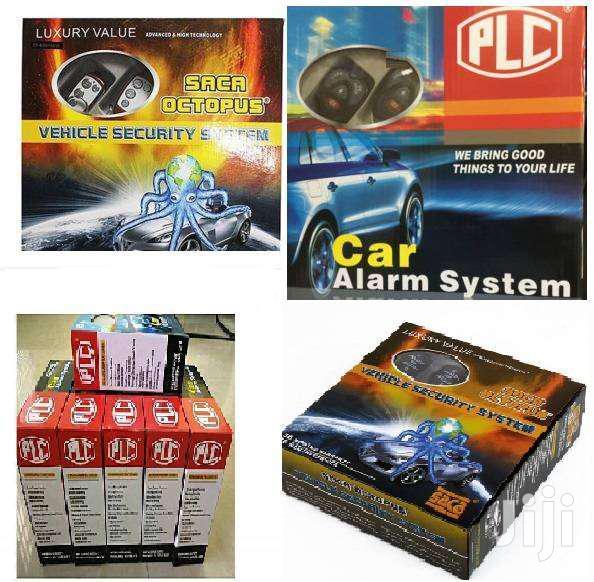 PLC Car Alarm Security Remote Lock System