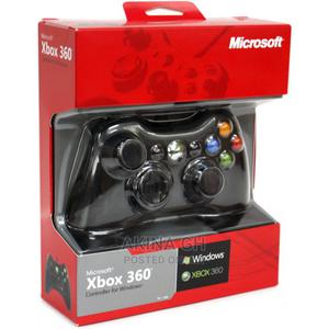 Microsoft Xbox 360 Wired Gaming Controller - Black | Video Game Consoles for sale in Greater Accra, Tesano