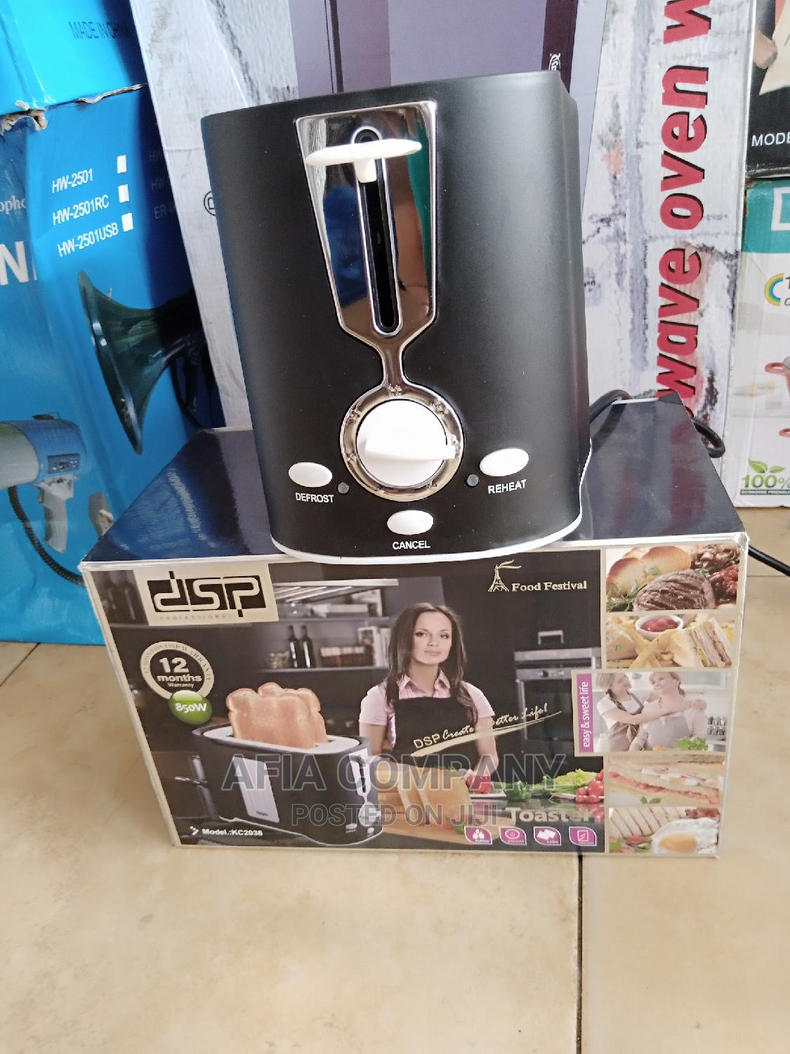 Dsp Bread Toaster - 2 Slices   Kitchen Appliances for sale in Accra Metropolitan, Greater Accra, Ghana