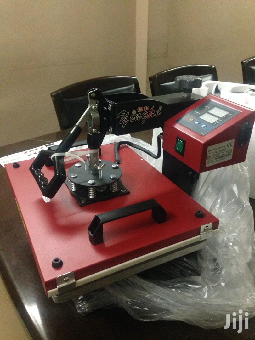 8 In 1 Heat Transfer Machine | Printing Equipment for sale in Abelemkpe, Greater Accra, Ghana