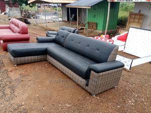 Leather Sofa Corner Set | Furniture for sale in Eastern Region, Lower Manya Krobo