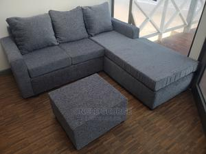 New Gray Quality Italian L Shape Sofa | Furniture for sale in Greater Accra, Dansoman