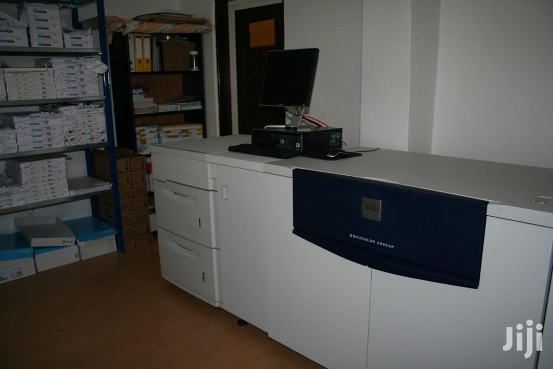 Archive: Xerox 5000 Digital Press