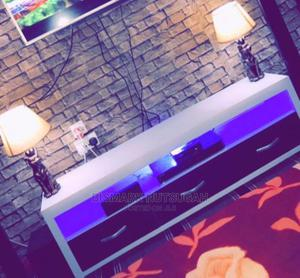 TV Stand With Light for Sale   Furniture for sale in Greater Accra, Tema Metropolitan