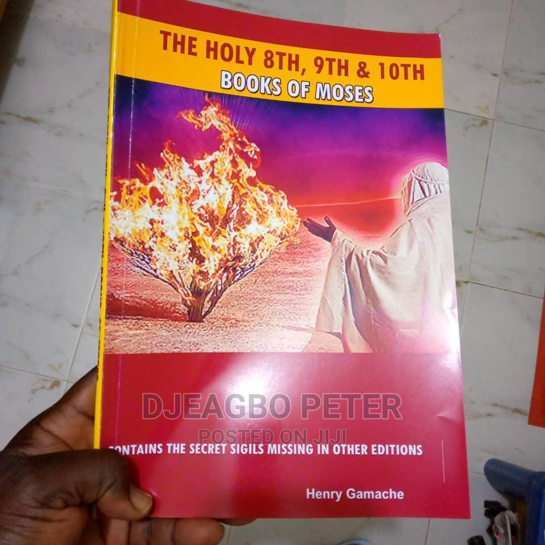 The Holy 8th, 9th 10th Book of Moses