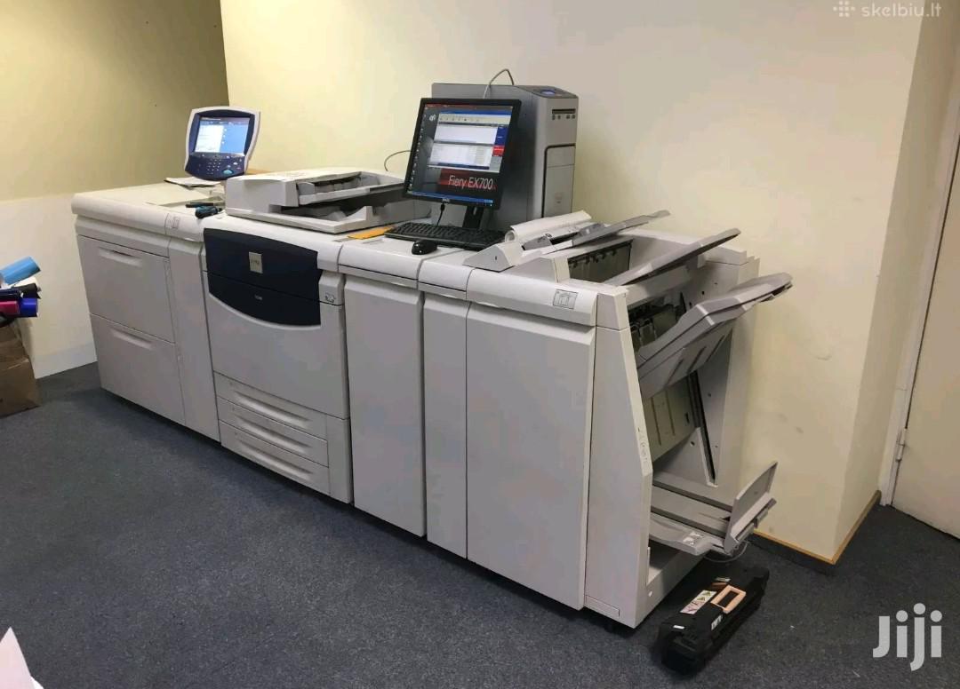 Archive: Xerox 700 Color Press Printer