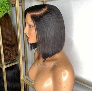 Grade 12 a Blunt Cut With Closure Unit Wig Cap | Hair Beauty for sale in Greater Accra, Osu