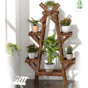 6 Layers Wooden Windmill Flower Rack   Garden for sale in Greater Accra, Achimota